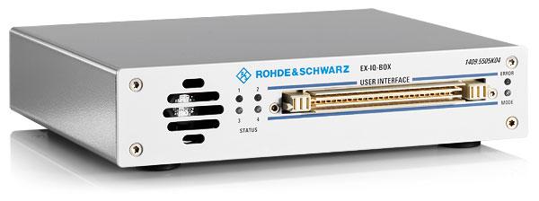Новая версия платы ввода R&S®EXBOX-B85 для тестирования протокола CPRI