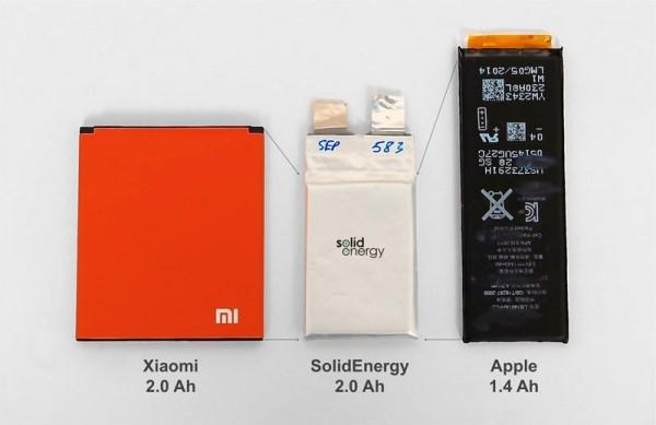 SolidEnergy смогла удвоить ёмкость литий-ионной батареи