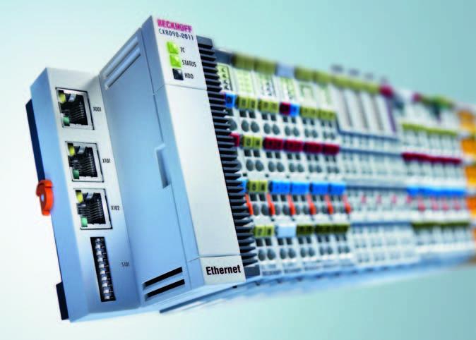 Модульный ПК CX8090: Новый интеллект для автоматизации зданий