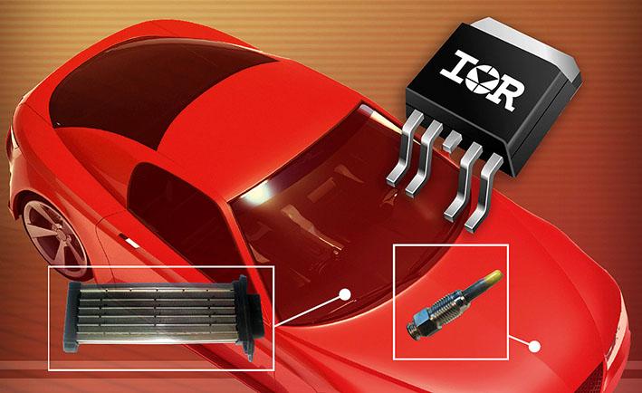 Компания IR представляет интеллектуальные силовые ключи с высоким уровнем интеграции с функцией измерения тока для применения в автомобильном электрооборудовании