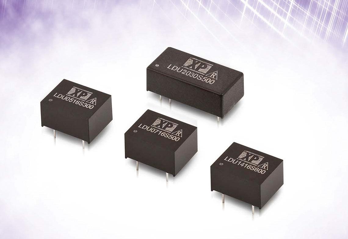 XP Power расширяет линейку миниатюрных DC/DC-драйверов светодиодов для монтажа на печатную плату