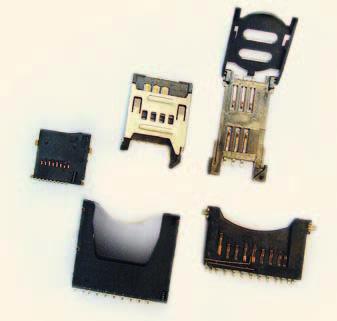 Разъёмы для считывателей SIM- и Flash-карт