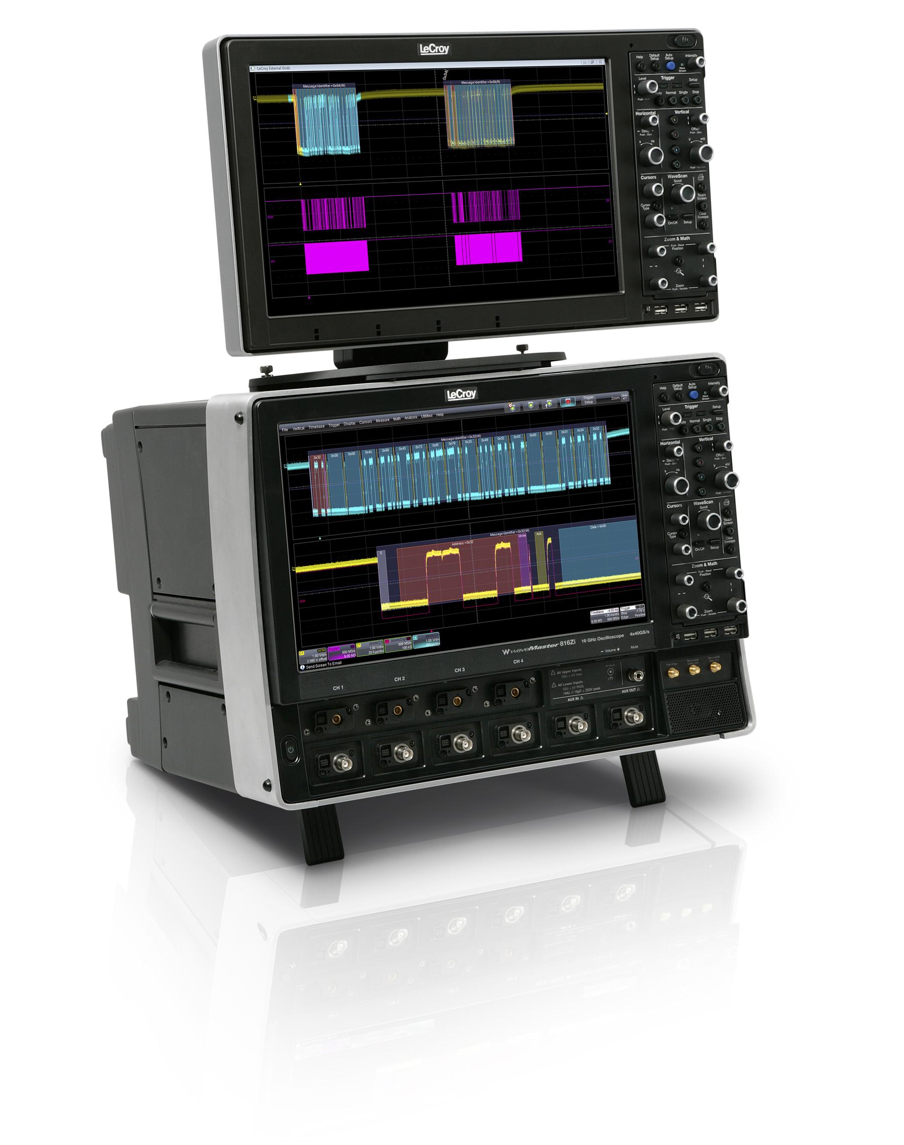 Новая серия цифровых осциллографов WaveMaster 8 Zi
