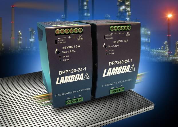 Компания Lambda заполняет 240-Вт пробел в источниках питания для монтажа на DIN-рейку