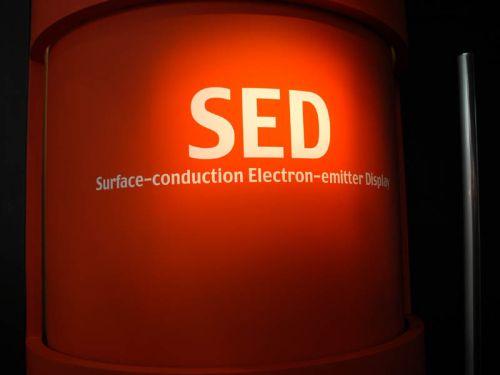Canon получает право на дальнейшую разработку SED-панелей