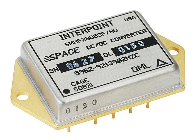 Компания Crane Aerospace & Electronics улучшила электрические параметры радиационно-стойких DC/DC-преобразователей серии SMHF