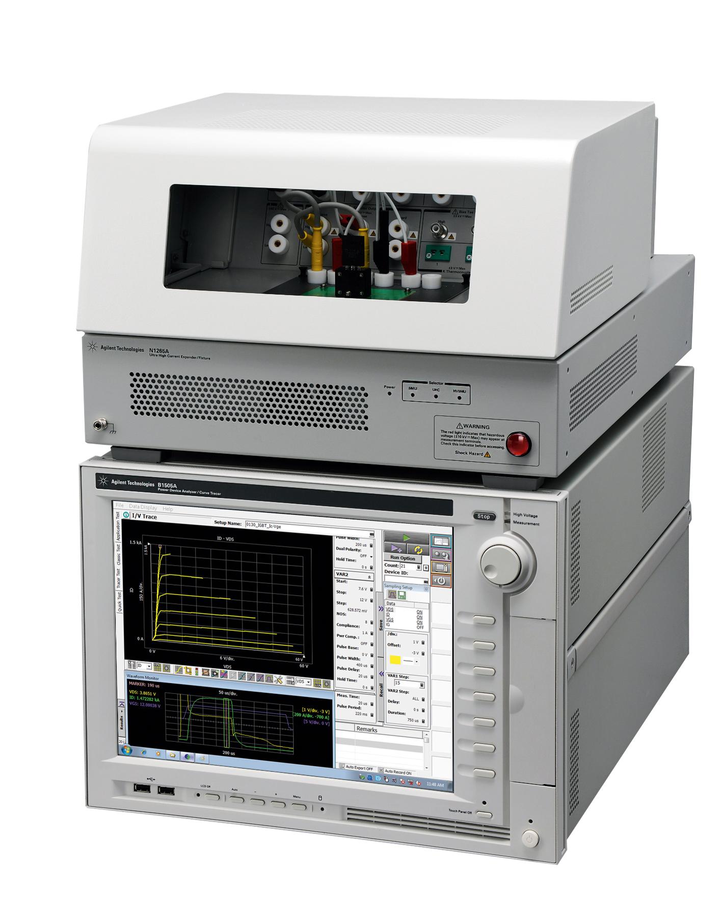Решение для измерения параметров силовых полупроводниковых  приборов