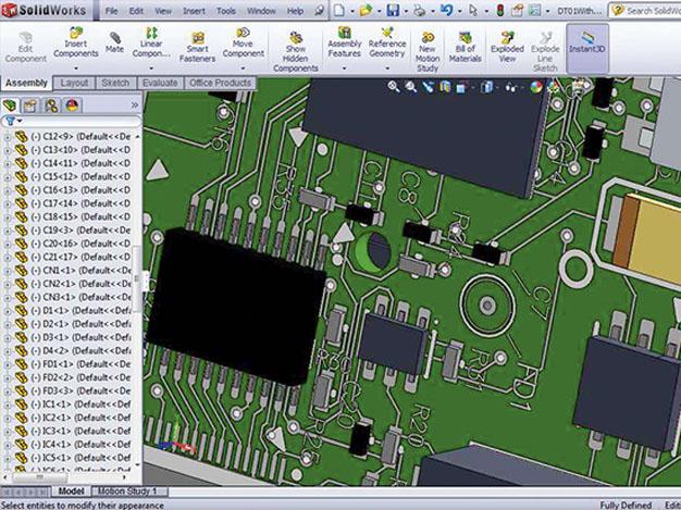 Altium выводит систему 3D_моделирования ПП на новый уровень интеграции ECAD и MCAD