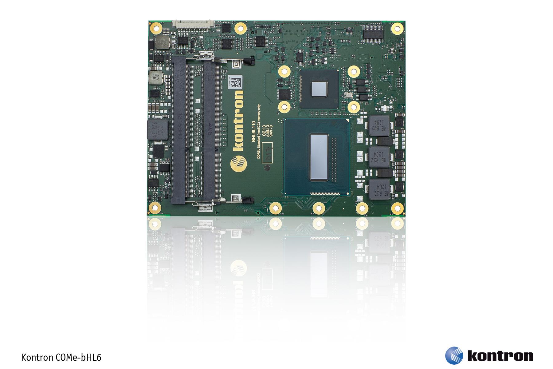 COMe-bHL6 basic на Intel Core 4: двукратный рост графической производительности для встраиваемых систем