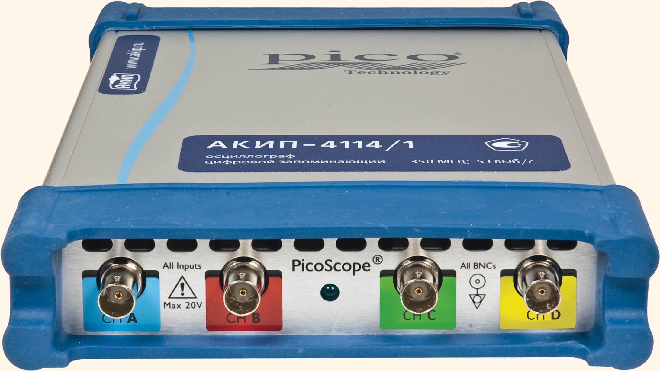 USB-осциллографы АКИП-4114
