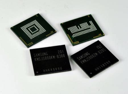 Samsung контролирует более половины рынка мобильной оперативной памяти
