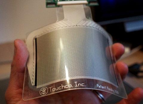 Гибкие мультисенсорные панели без ограничения количества касаний