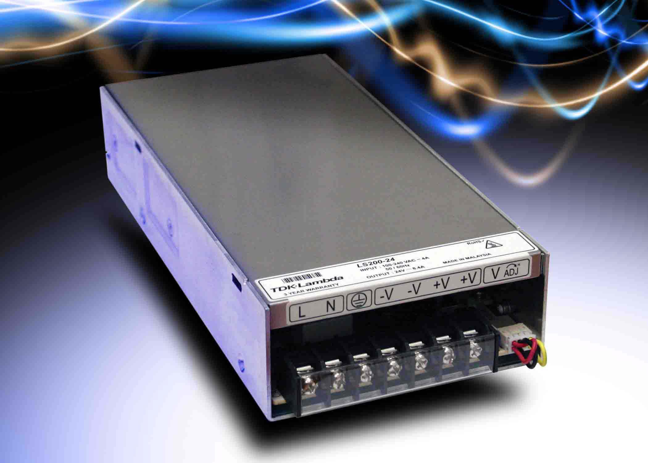 TDK-Lambda расширила серию источников питания LS 200-Вт моделями
