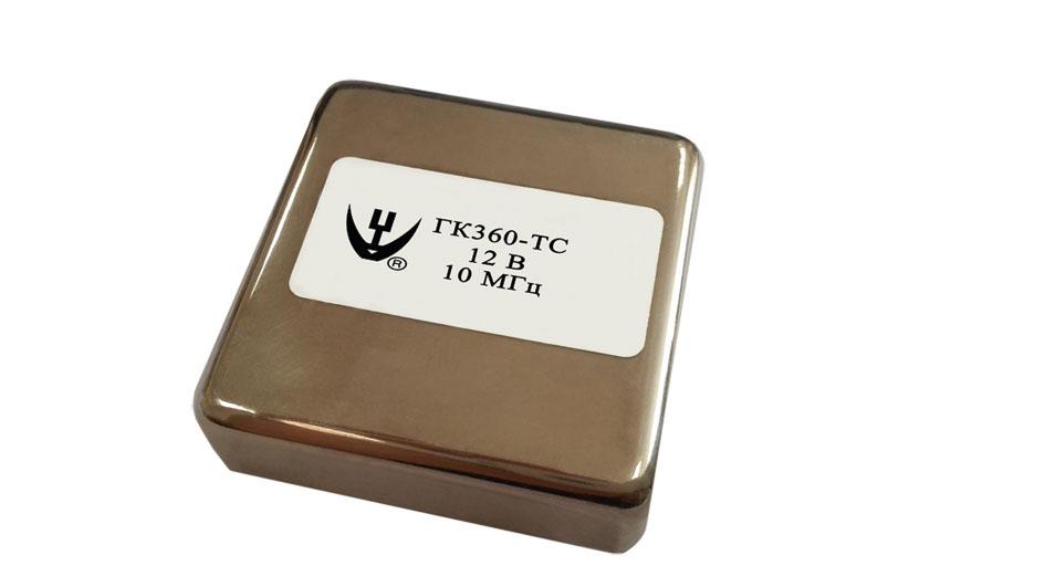 Новый ультрапрецизионный термостатированный генератор ГК360-ТС