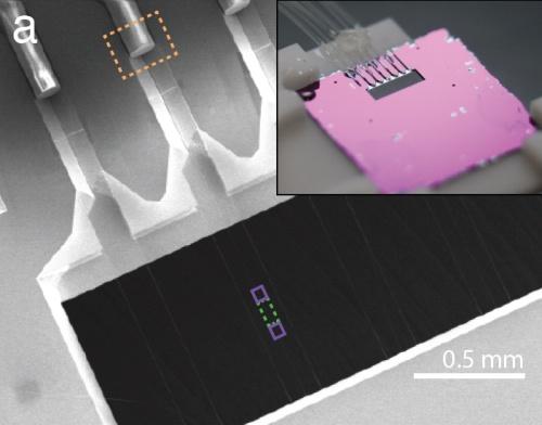 Представлена первая интегральная фотонная микросхема, способная оперировать отдельными атомами