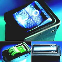 Тепловой предохранитель-выключатель с числом полюсов от одного до трёх