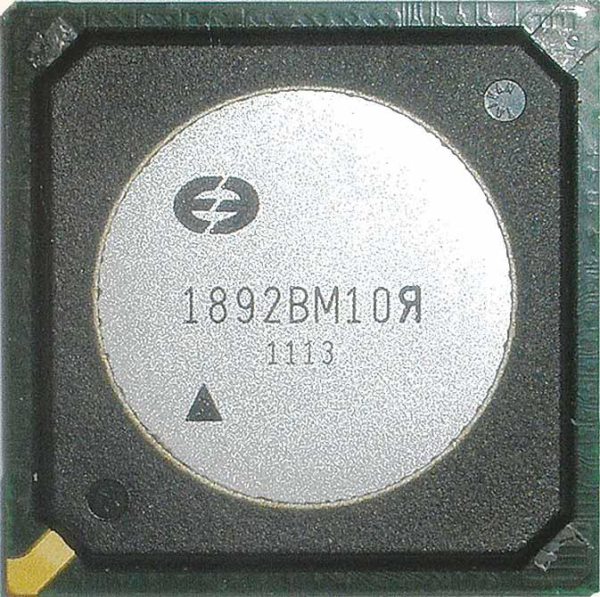 Новый сигнальный процессор 1892ВМ10Я со встроенной функцией ГЛОНАСС/GPS-навигации