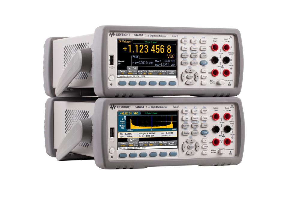 Производительные 6 1/2 - и 7 1/2 -разрядные цифровые мультиметры от Keysight