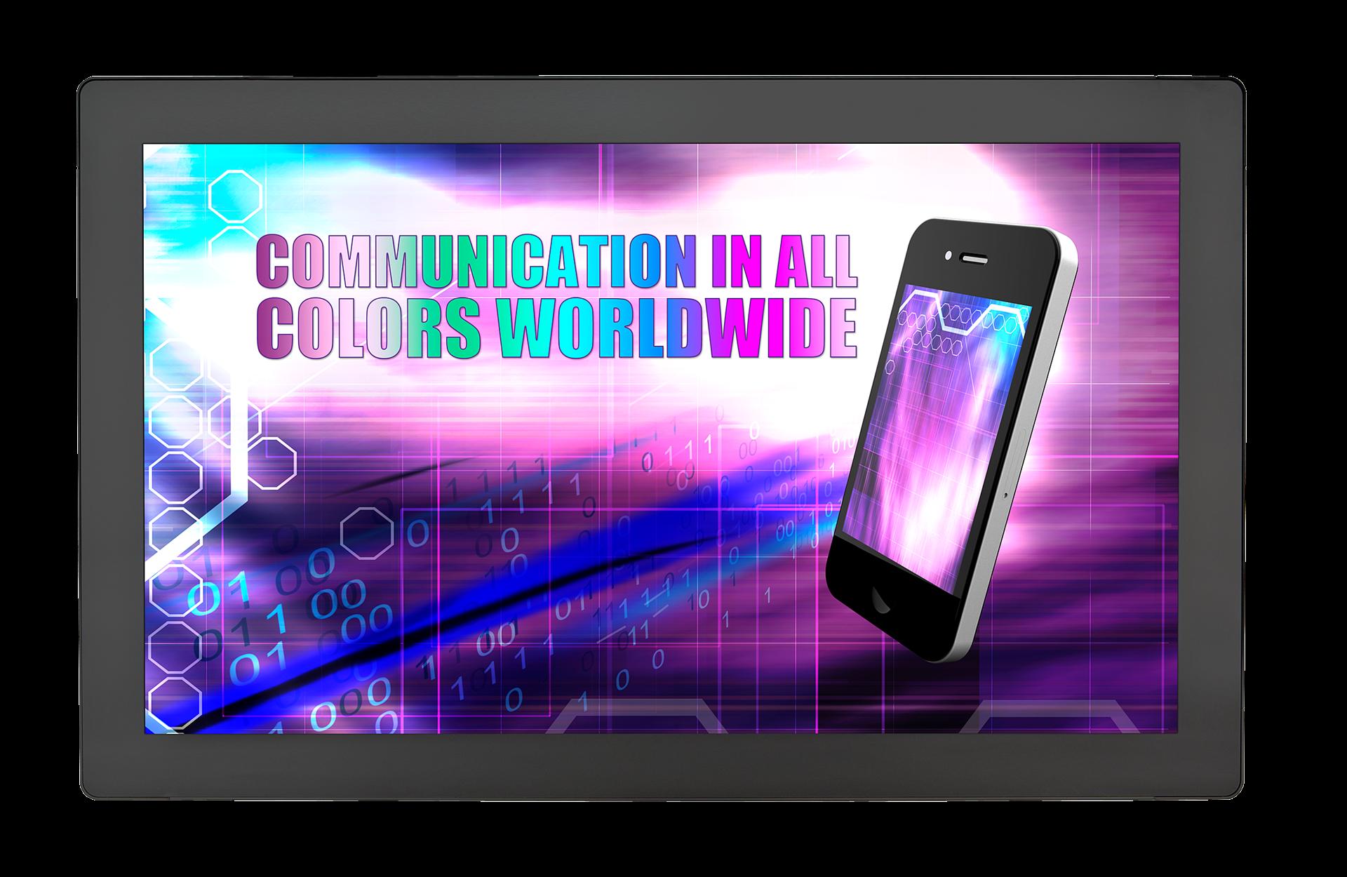"""Широкоформатный 32"""" ЖК-дисплей с multi-touch сенсорным экраном"""