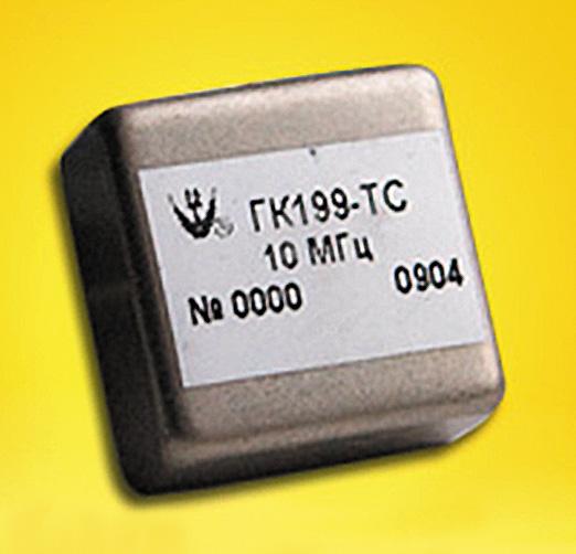 Новый миниатюрный прецизионный термостатированный генератор ГК199-ТС