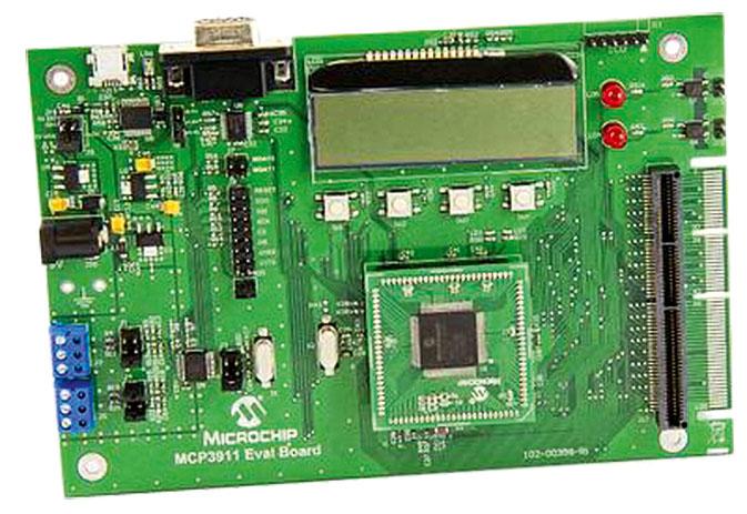 Microchip: измерительная микросхема для счётчиков электроэнергии