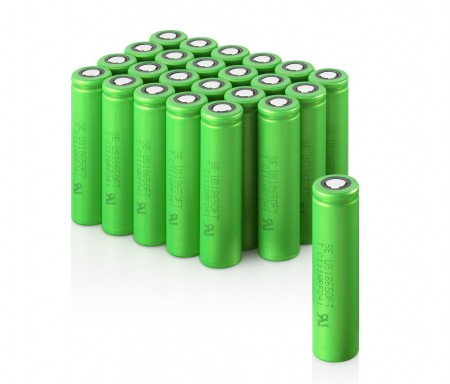 Новый материал увеличивает ёмкость литий-ионных батарей на 30%