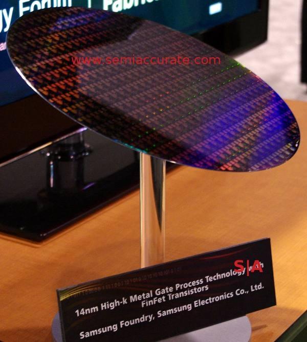 Samsung начала контрактное производство 14-нм чипов
