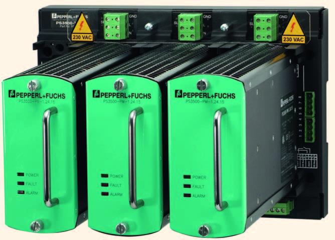 Высоконадёжные источники питания PS3500 с N+1-резервированием