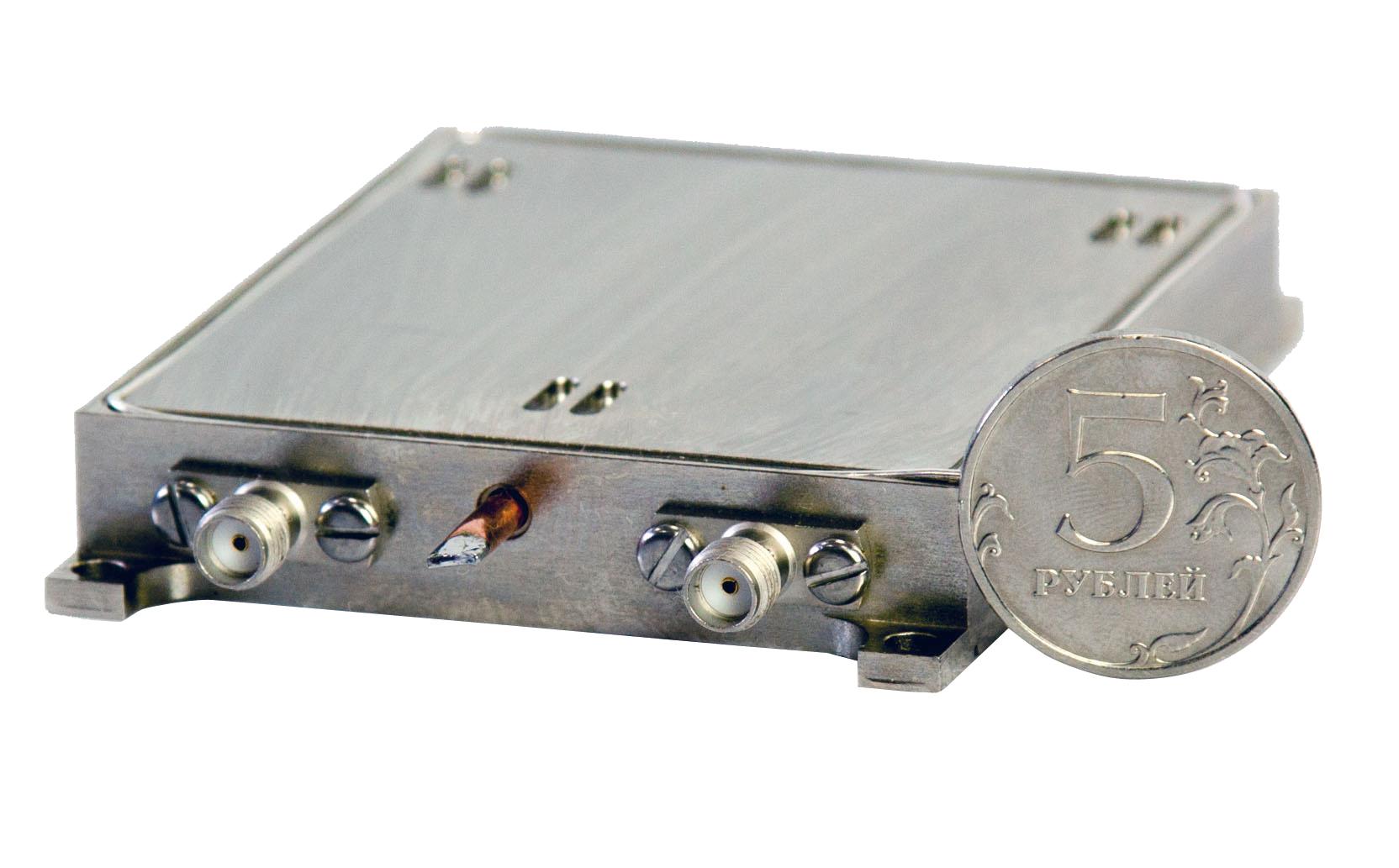 Малогабаритный  СВЧ-синтезатор 5–10 ГГц