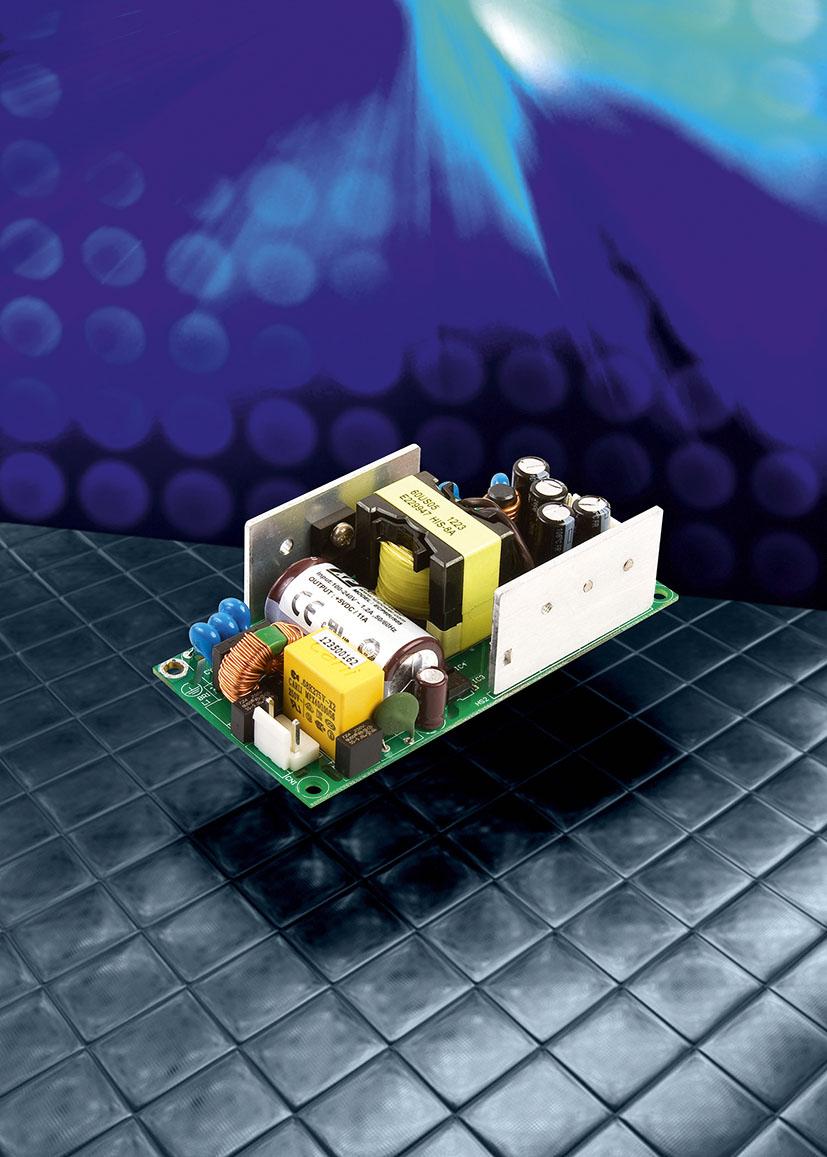 Многоканальные 60-Вт источники питания AC/DC серии ECP60 соответствуют современным стандартам эффективности использования энергии