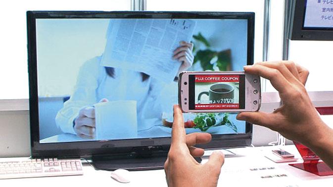 Fujitsu показала передачу данных через экран телевизора