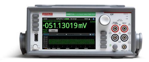 Новый вольтметр DMM7510 от компании Keithley