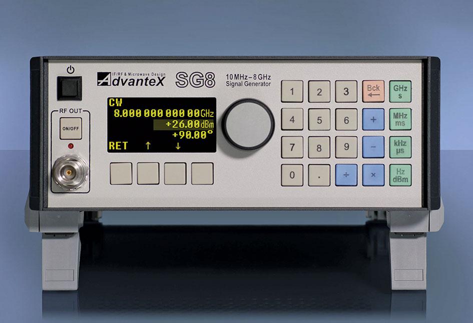 Высокочастотный генератор сигналов 10 МГц…8 ГГц