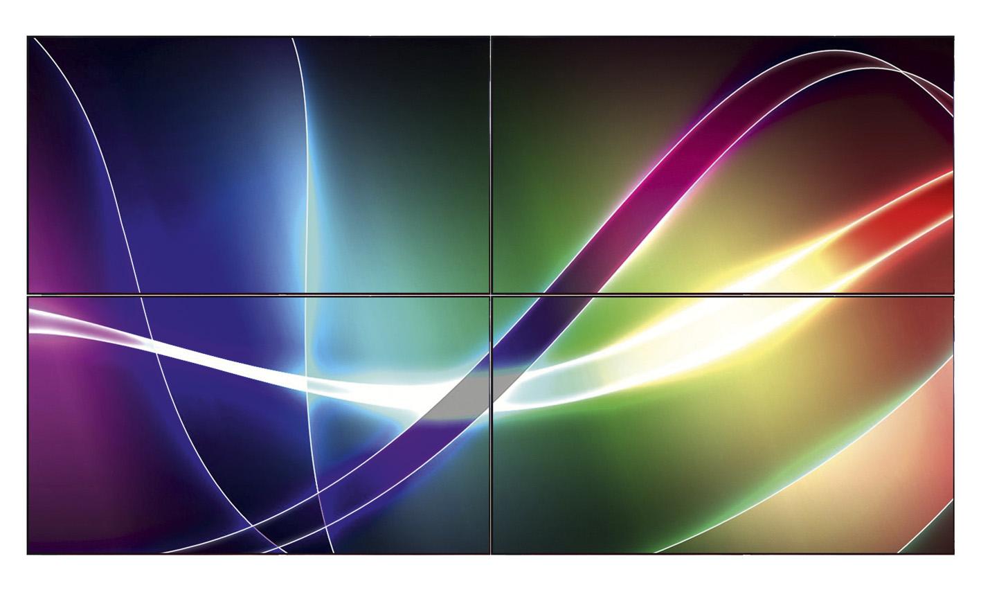 """55"""" ЖК-дисплей Full HD со сверхузкой фальшпанелью"""