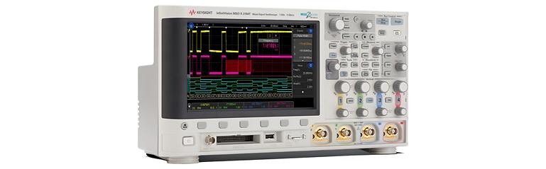 Новые осциллографы с ёмкостным сенсорным экраном и функцией запуска по выделенной области