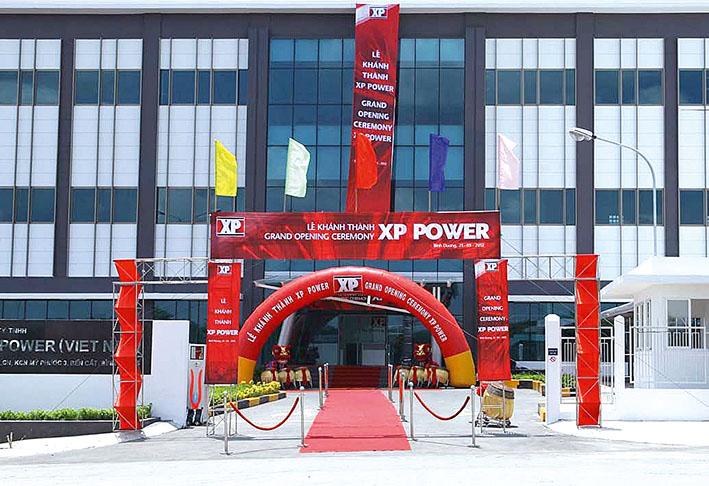Компания XP Power открыла современное экологическое производство во Вьетнаме