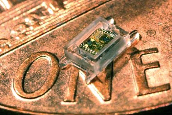 Первый компьютер миллиметрового масштаба