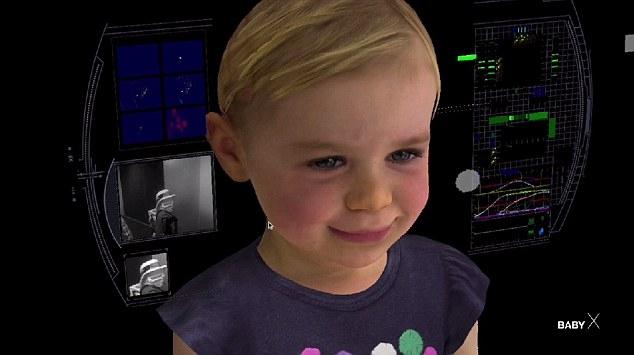 Искусственный интеллект BabyX копирует поведение ребёнка