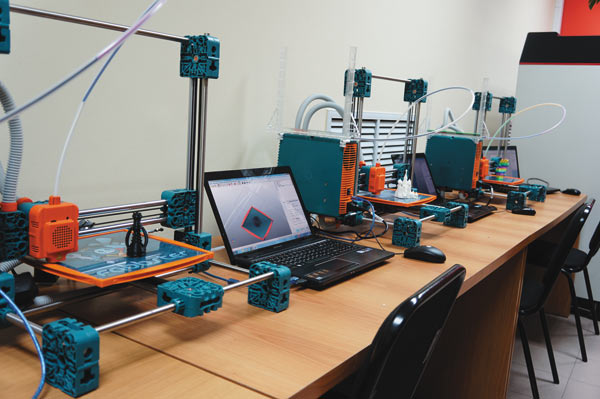 Уникальная лаборатория 3d-прототипирования была создана на базе