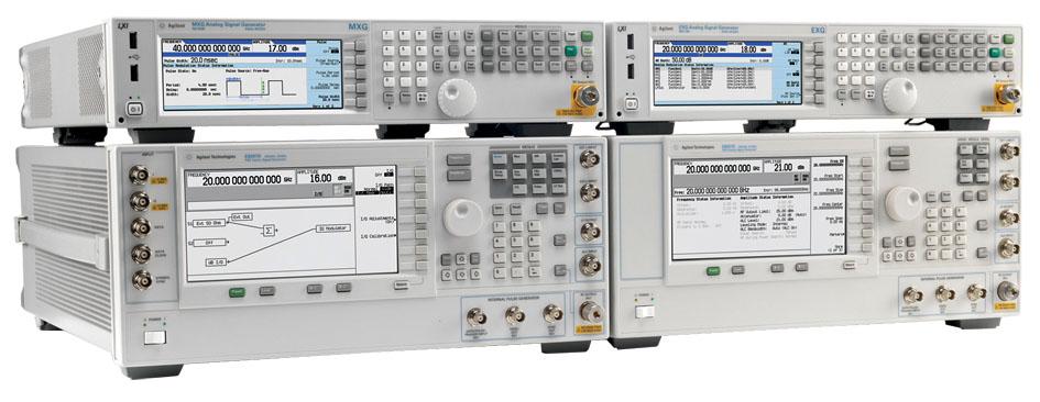 Agilent Technologies: новые СВЧ-генераторы сигналов с лучшими в отрасли характеристиками
