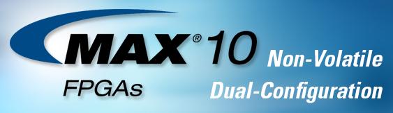 Онлайн-тренинги, посвящённые семейству MAX 10