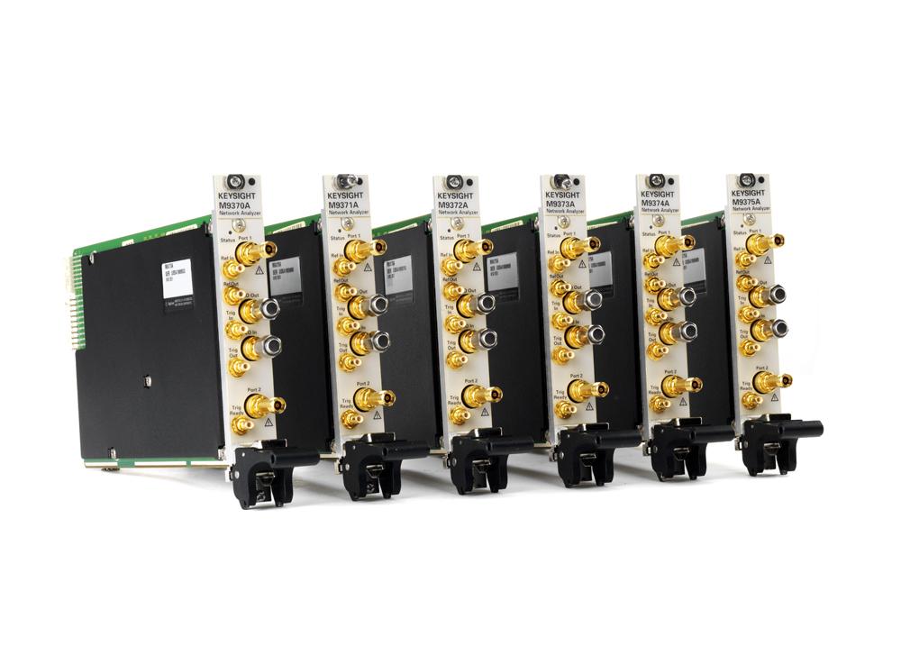 Новые полнофункциональные двухпортовые векторные анализаторы цепей от Keysight Technologies