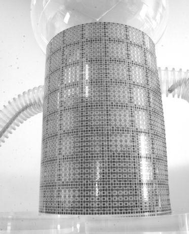 Гибкий лист позволит роботам видеть с помощью ультразвука