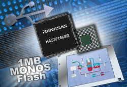 H8SX-контроллеры с USB и 1 Мб Flash