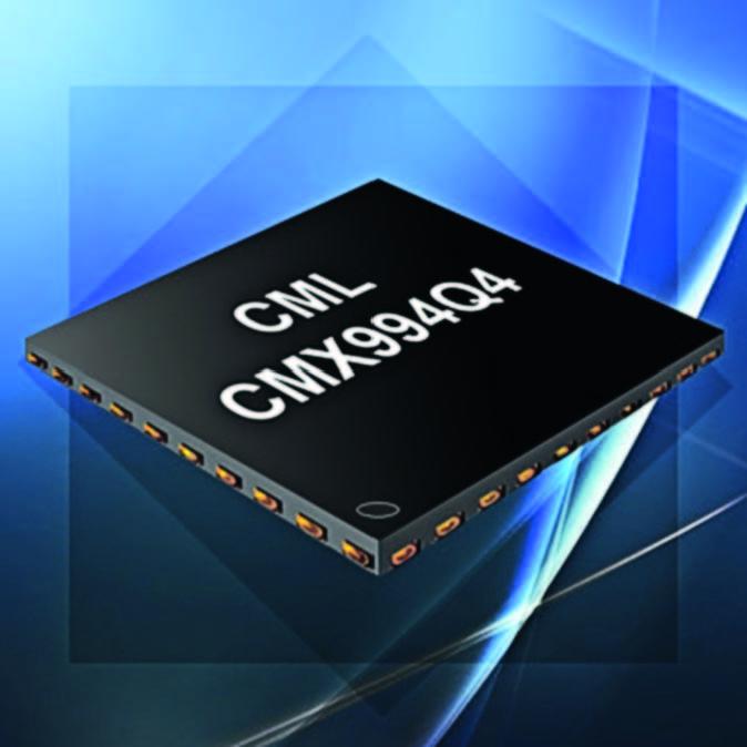 CML Microcircuits объявляет о выпуске нового ресивера CMX994