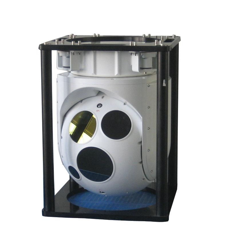 Гиростабилизированная система с точностью стабилизации 20 мкрад