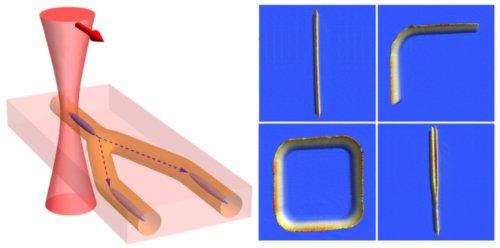 Перепрограммируемые квантовые схемы из сверхохлаждённой материи