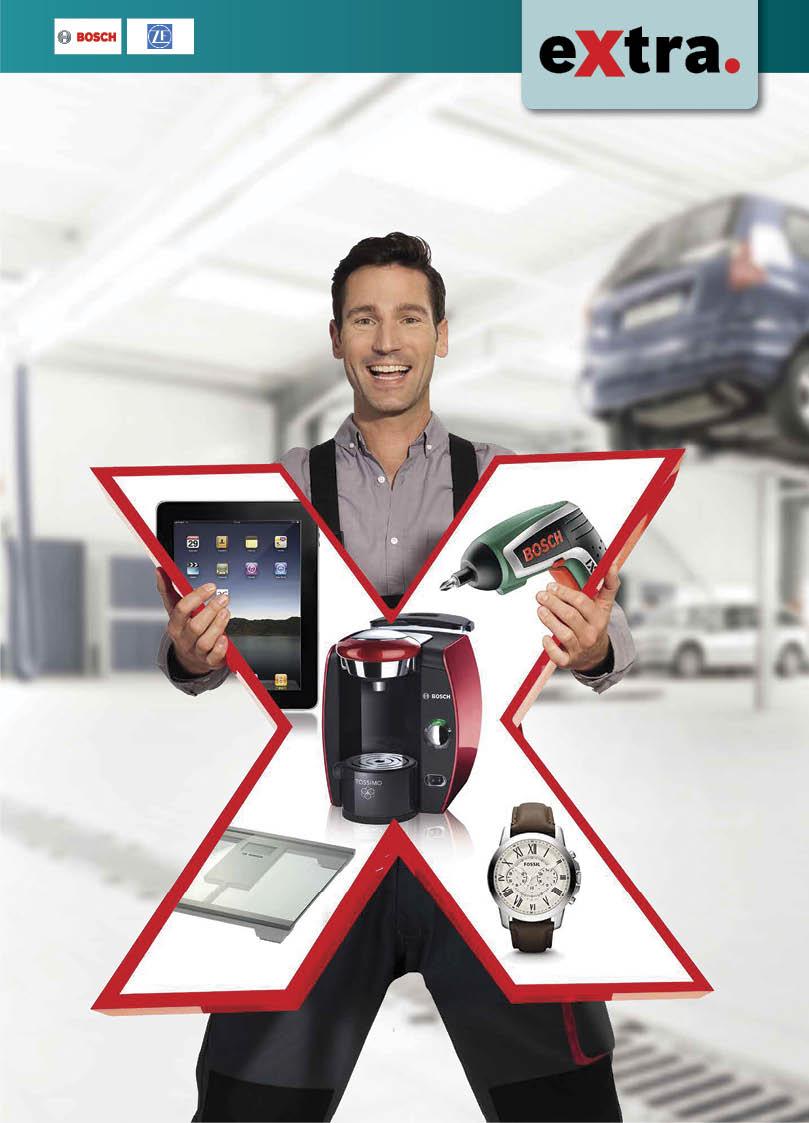 В России к программе лояльности eXtra от Bosch присоединяется ZF Services