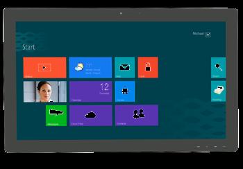 """27"""" широкоформатный дисплей с multi-touch сенсорным экраном"""