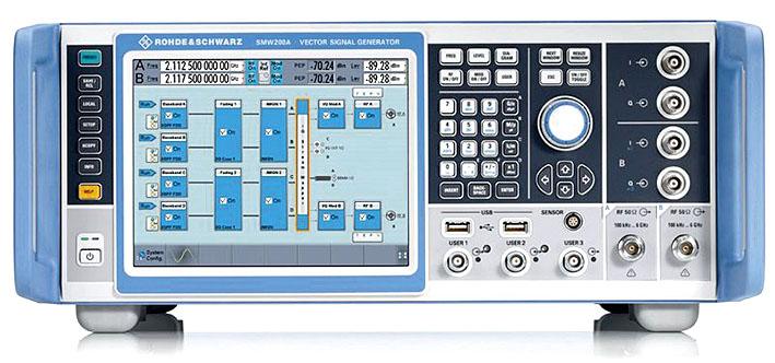 Новый векторный генератор сигналов высшего класса SMW200A